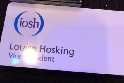 Press release: Louise Hosking re-elected as IOSH Vice President